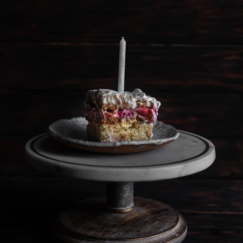 Vegan Strawberry Shortcake Cake for Mother's Day with The Korean Vegan