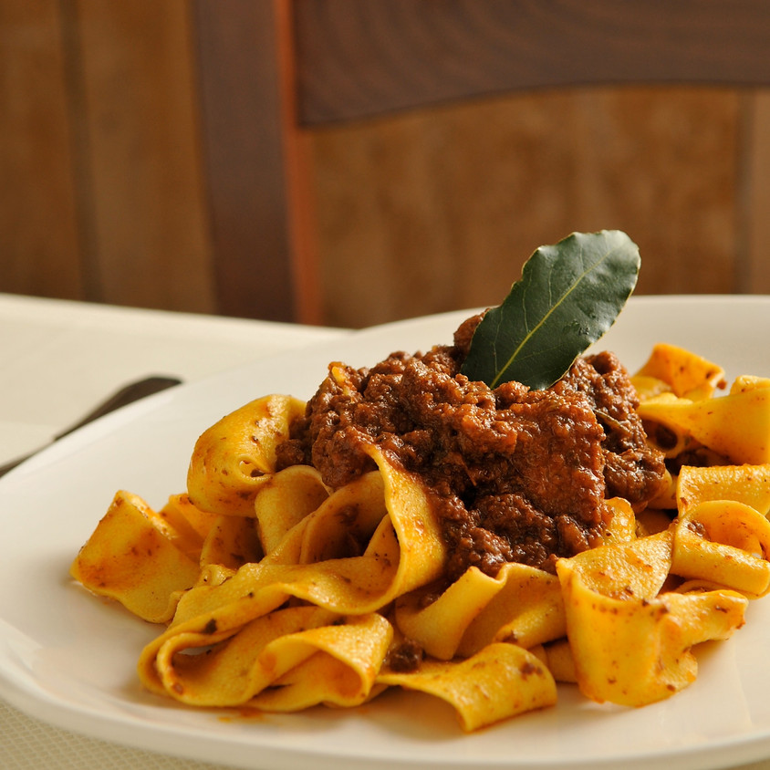 Bolognese Pappardelle