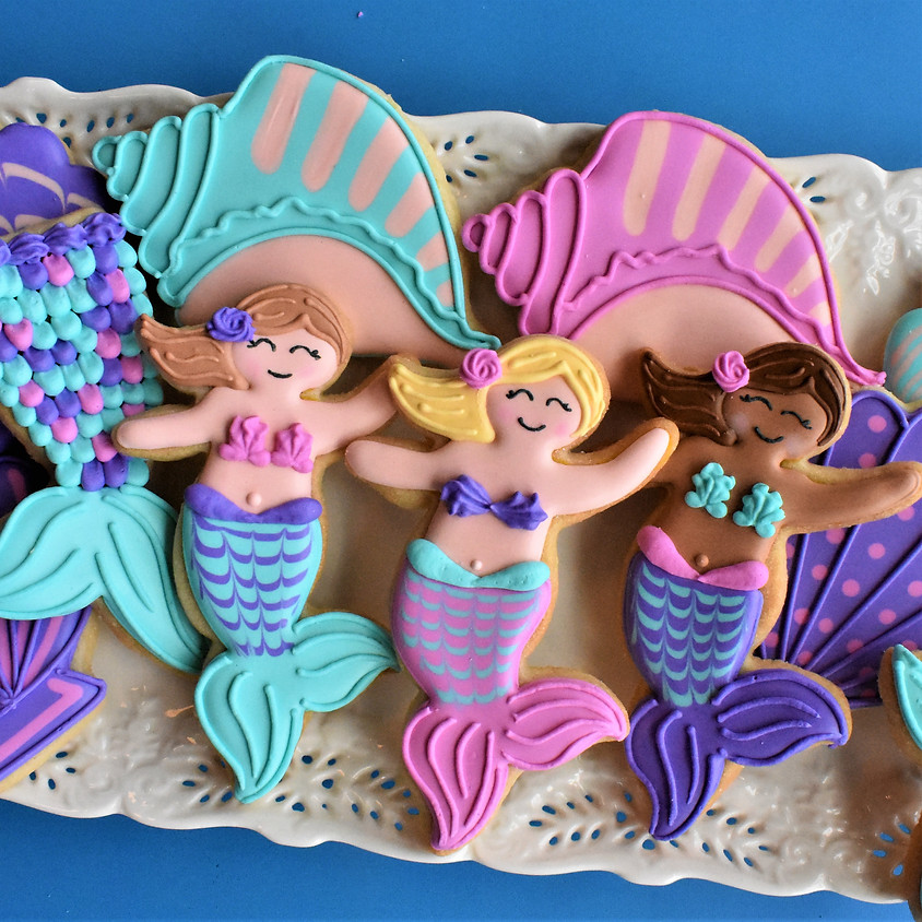 Recording of Mermaid Cookies with Anne from The Flour Box