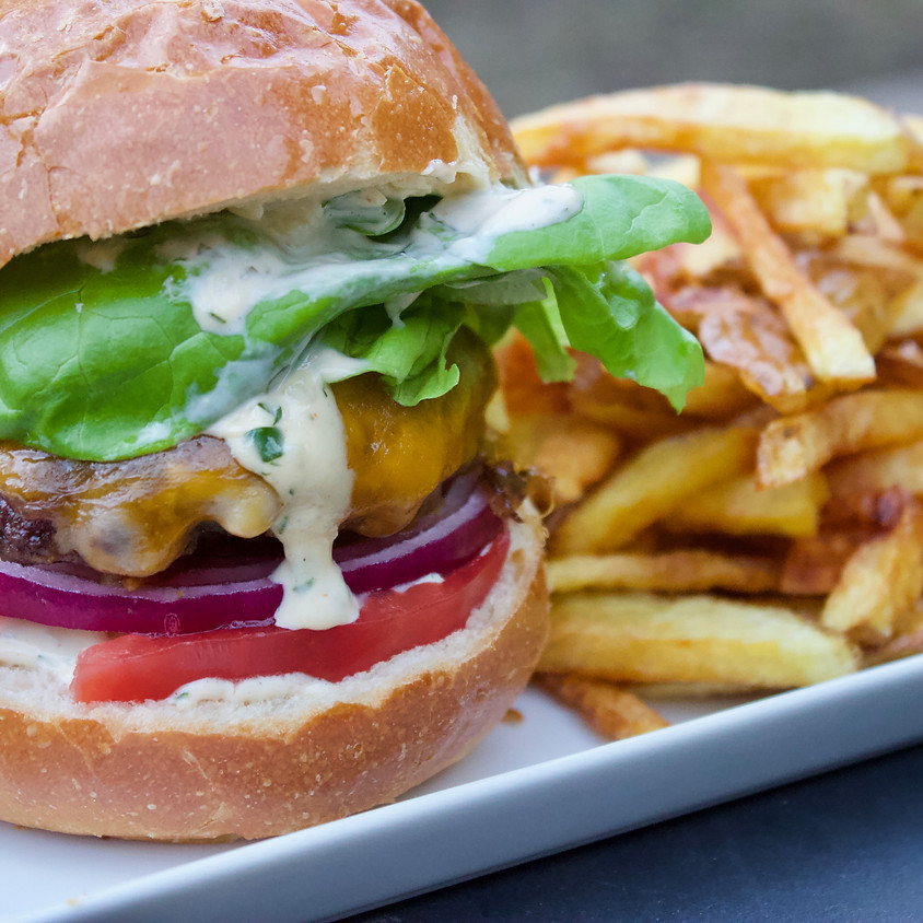 Foxhollow Farm Burgers & Fries with The Farmer and The Foodie