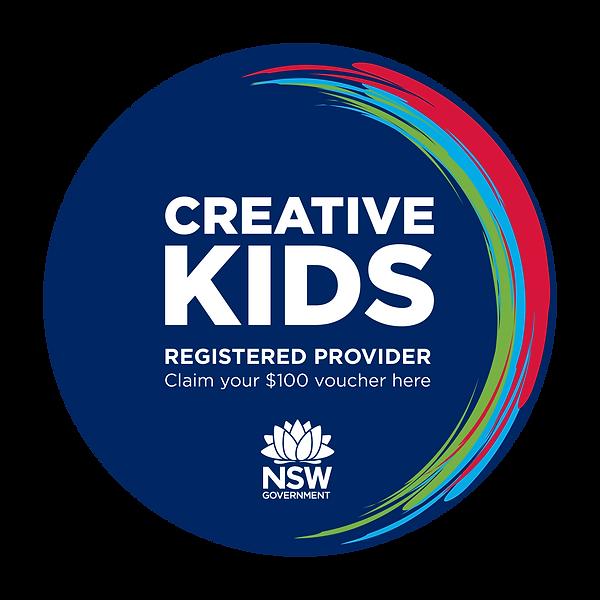creative kids sticker
