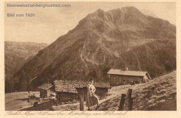 Buehlalpe bei Mittelberg