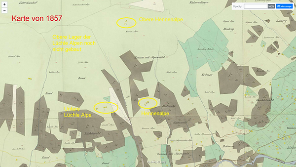 1857 Karte