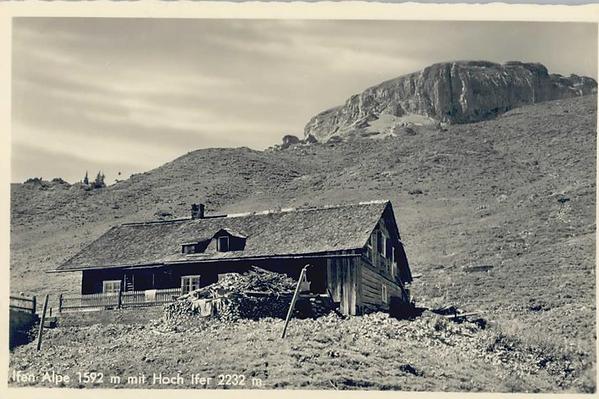 Ifenalpe Ifenhütte