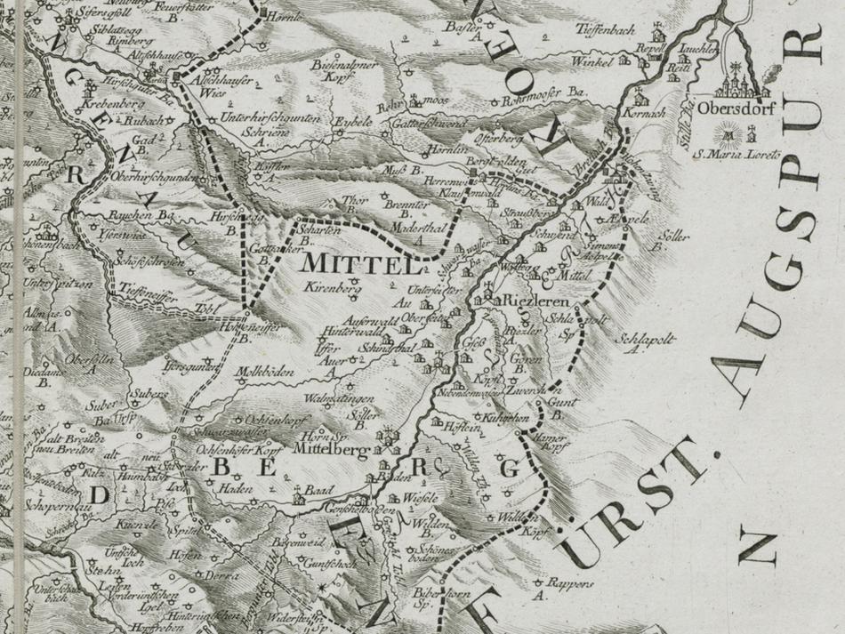 Karte 1783