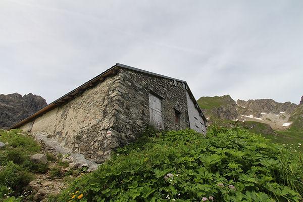 Alpgebäude Wildental Mittelberg