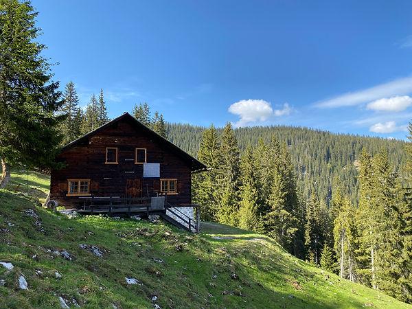 Grafenküren Alpe Jagdhütte