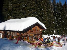 Maxhütte in Mittelberg