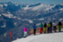 Blick Nebelhorn in das Kleinwalsertal