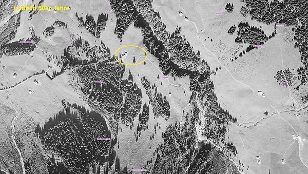 Zugtiefe Alpe Mittelberg