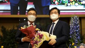 담임목사님 침례교해외선교회 이사장 취임 (관련뉴스)