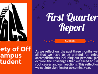 First Quarter Report