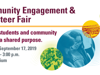 Community Engagement and Volunteer Fair