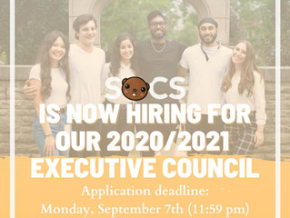 Executive Applications for 2020-2021!