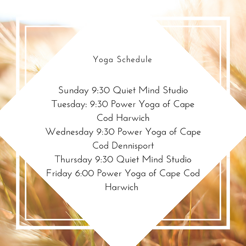 Tuesday_ 9_30 Power Yoga of Cape Cod Har