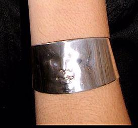 sterling silver bracelet cuff