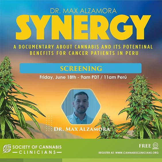 'Sinergia': transmisión del documental de la 'Society Of Cannabis Clinicians'