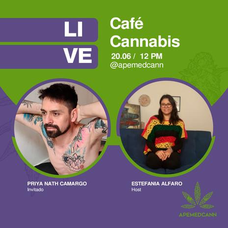 Café Cannabis con Priya Nath Camargo