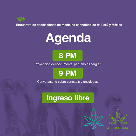 Encuentro de asociaciones de medicina cannabinoide de Perú y México