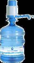 agua purificada