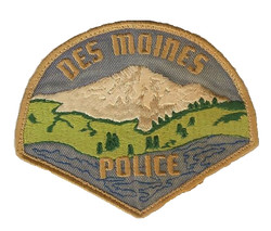 Des Moines Police Patch
