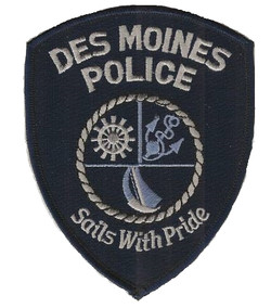 Des Moines Police Sails with Pride