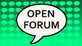 open forum.jfif