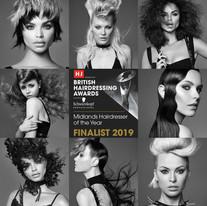British Hairdressing Awards 2019