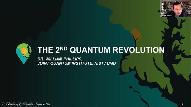 Dr. William Phillips on the Second Quantum Revolution