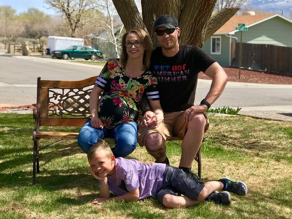 Kyle Davis and Family Grand Junction Colorado
