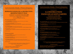 Study on the destruction