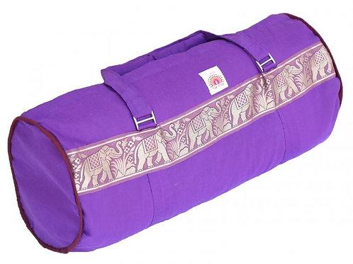 Large Kit Bag with Elephant Border