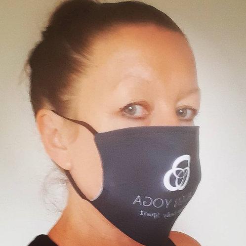 Align Yoga 'Mind Body Spirit' Mask - Black