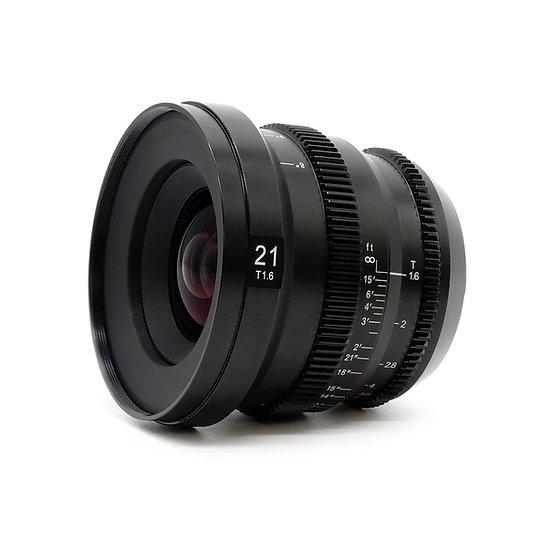 MicroPrime CINE 21mm T1.6 MFT