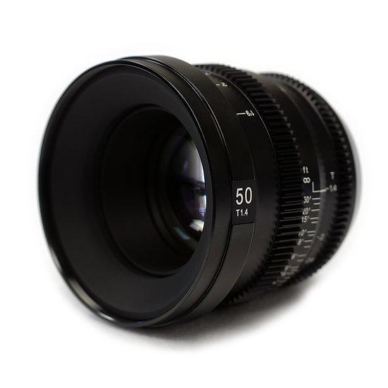 MicroPrime CINE 50mm T1.4 MFT