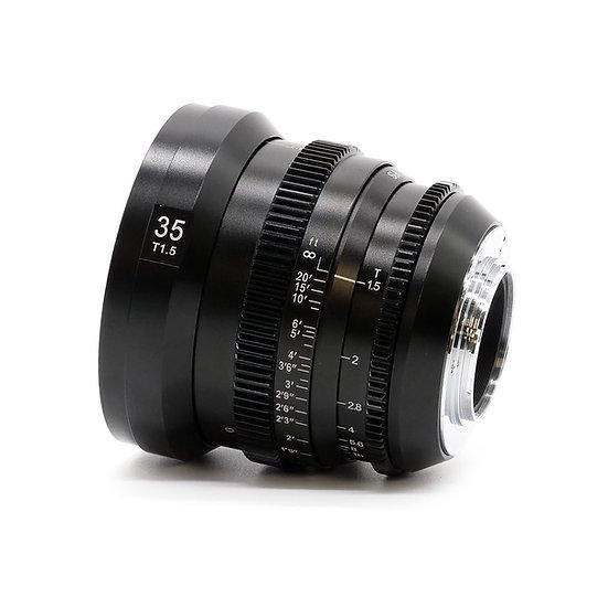 MicroPrime CINE 35mm T1.5 MFT
