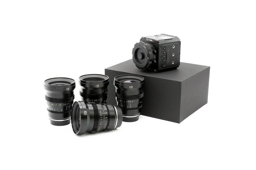 Z CAM E2-S6 bundle with APO MicroPrime 4-Lens Set