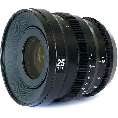 MicroPrime CINE 25mm T1.5 MFT