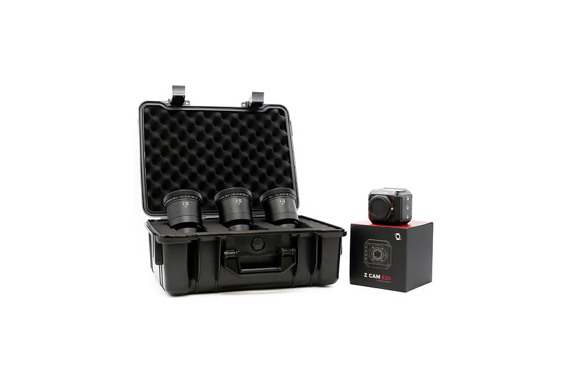 Z CAM E2C bundle with 2x Anamorphot CINE 3-Lens Set