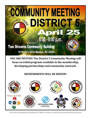 District 5 Community Meeting