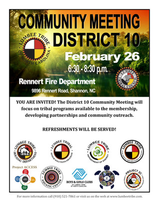 District 10 Community Meeting