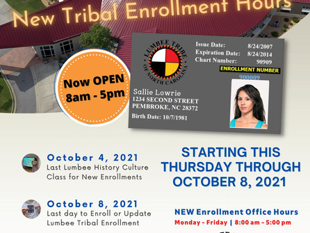 UPDATED Enrollment Office Hours