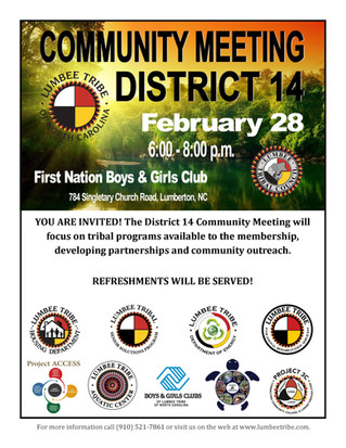 District 14 Community Meeting