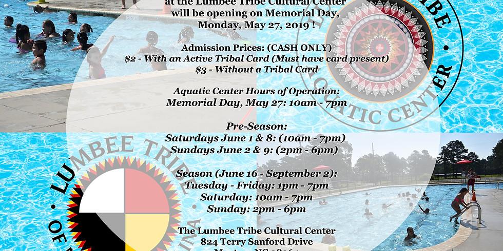 The Lumbee Tribe Aquatic Center Opening