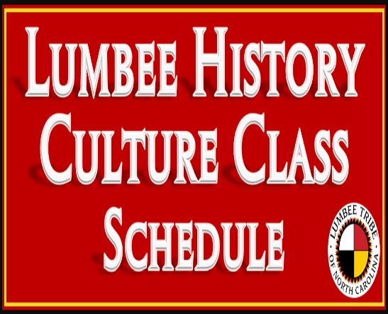 Lumbee History Culture Class