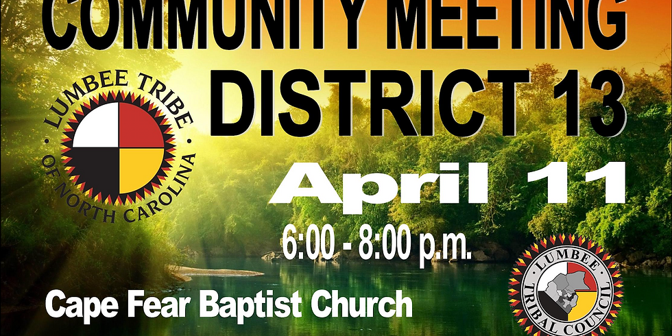 District 13 Community Meeting (1)
