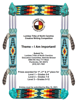 Lumbee Tribe of North Carolina Creative Writing Competition