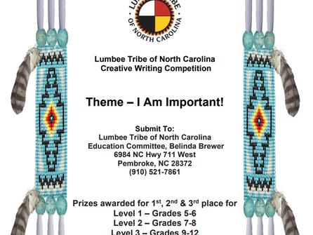 Lumbee Tribe of North Carolina Creative Writing Competition