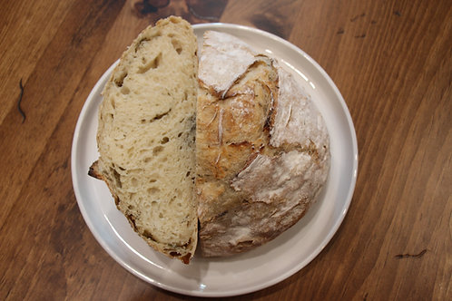Gruyère Black Pepper Sourdough Bread