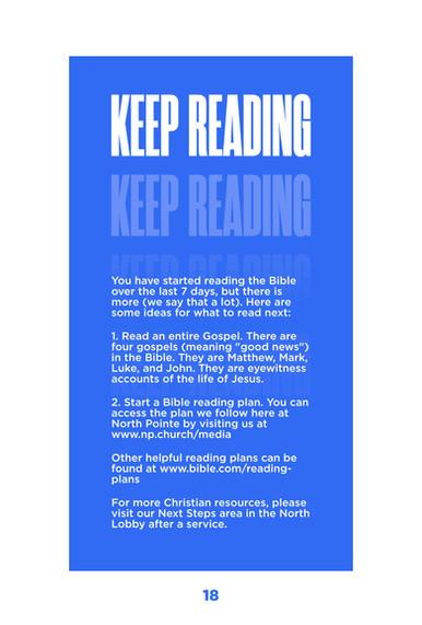 20. Keep Reading